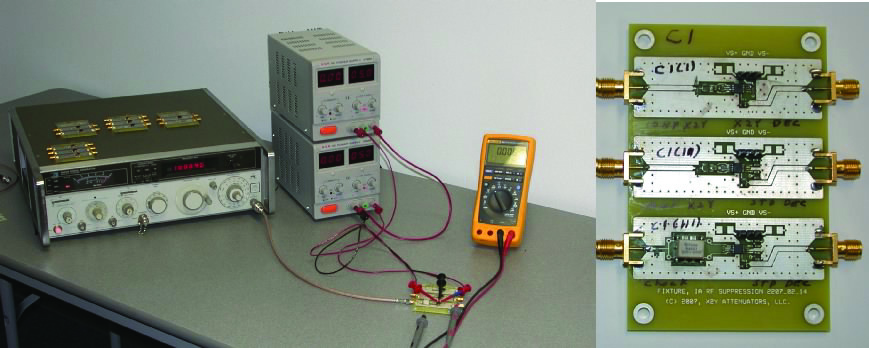FIgure 11. Test setup for instrumentation amplifier.
