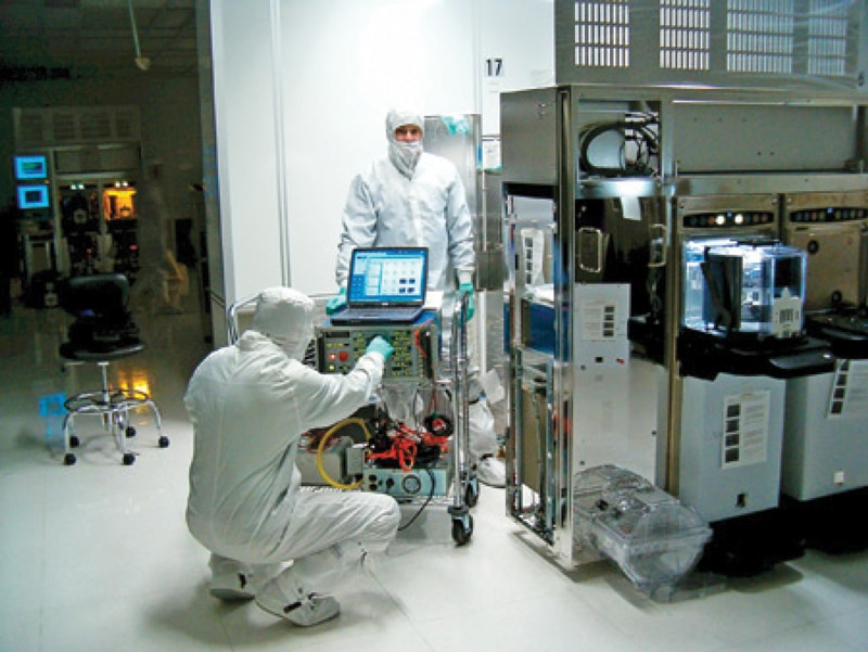 Semiconductor Industry Test : Voltage sag testing for industrial equipment