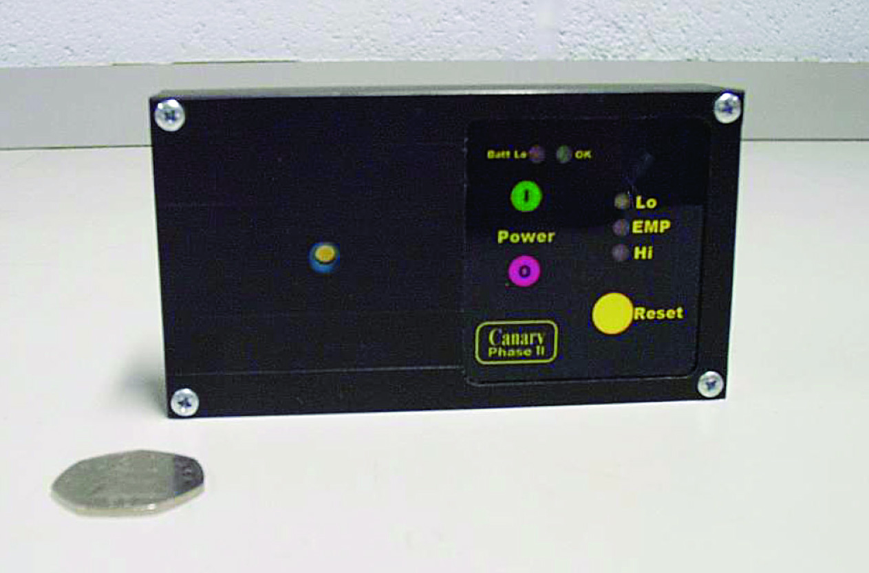 Figure 4. Example of a prototype IEMI detector from QinetiQ.