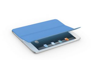 Apple's iPad 2 with magentic Smart Cover. (Image: Apple)