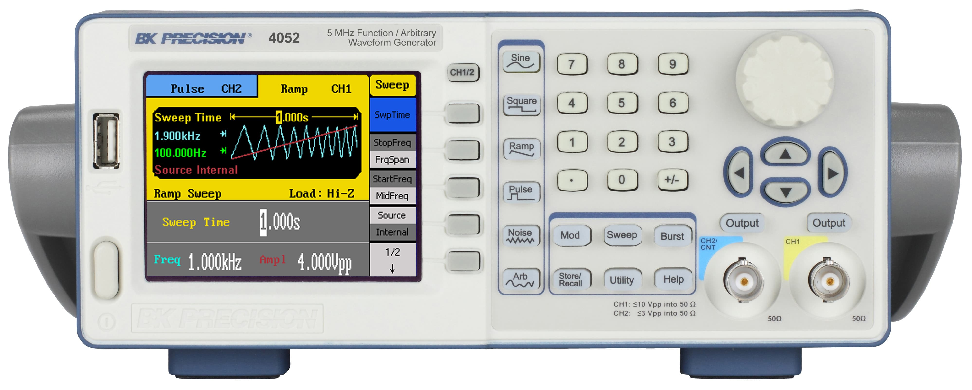 Dual Channel Function Arbitrary Waveform Generators Released Image Bk Precision