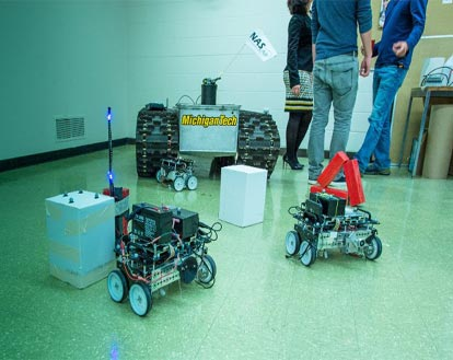 Robot Prototype Offers Endless Services