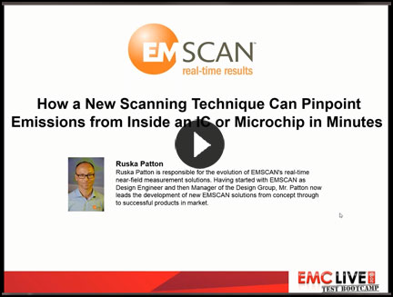 EMSCAN Presents How a New Scanning Technique Can Pinpoint Emissions from Inside an IC or Microchip in Minutes