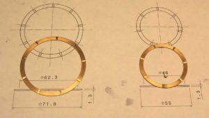 Beryllium Copper Rings