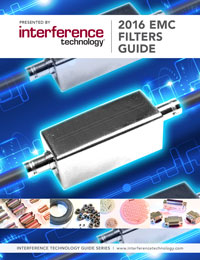 2016 EMC Filters Guide cover