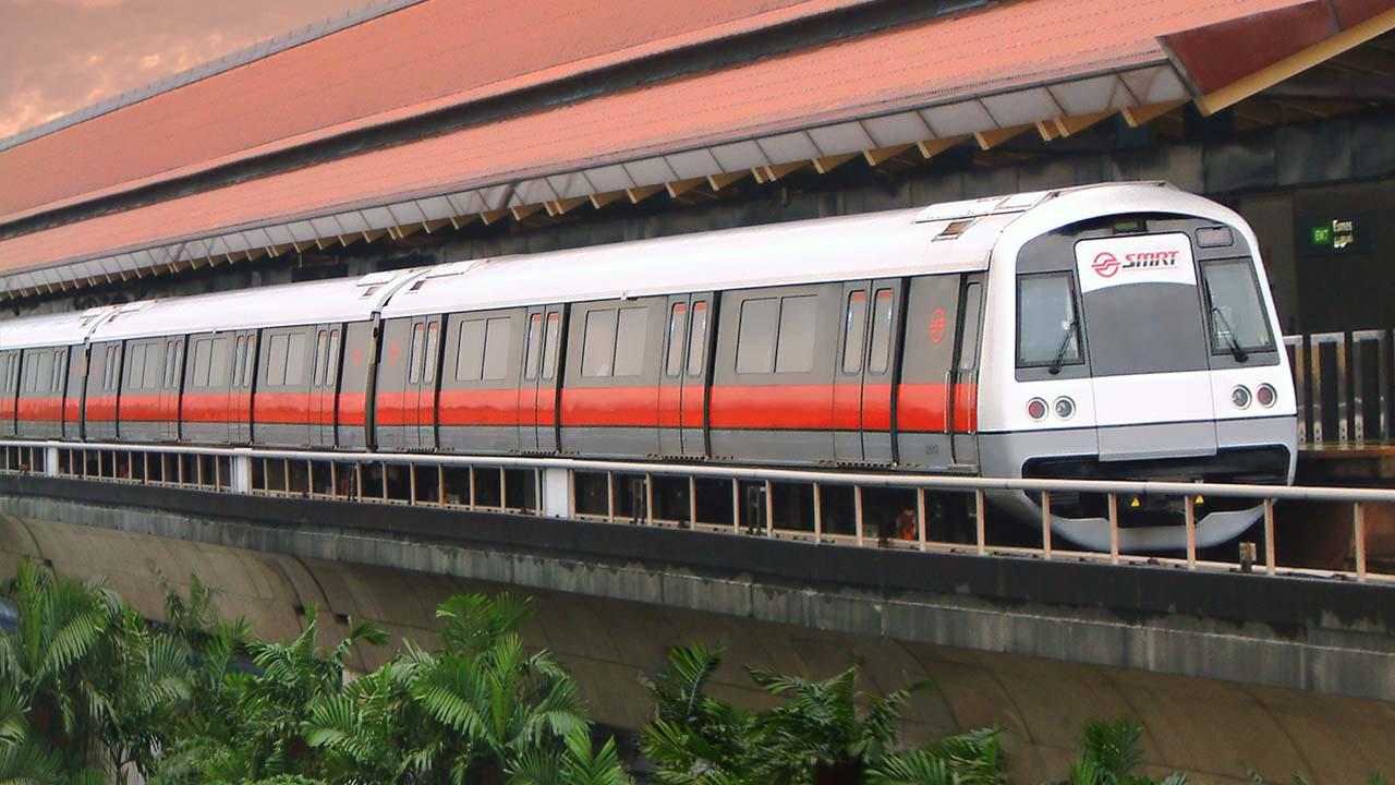Singapore SMRT Train