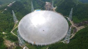 World's Largest Radio Telescope in Service