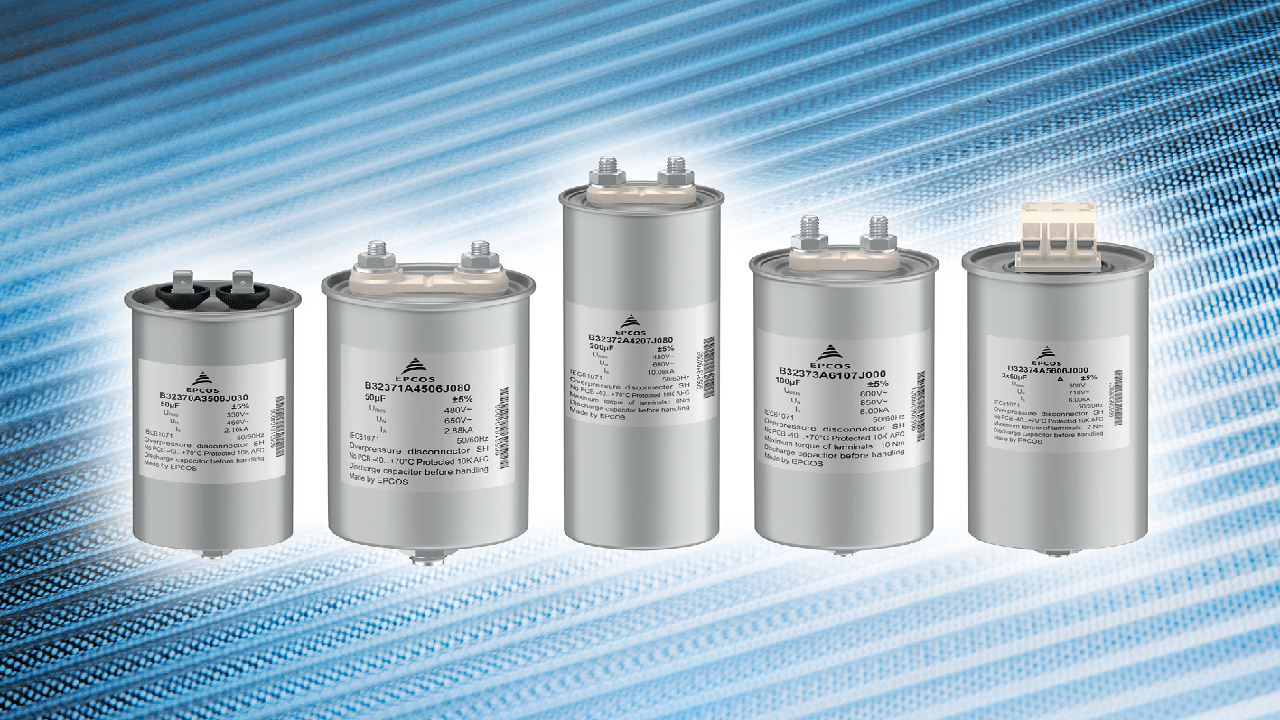 New Line of Filter Capacitors for Power Supplies | Interference ...