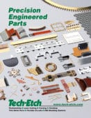 Brochure Describes Photo Etching of Thin Metal Parts, Board Level Shielding and Flexible Circuits