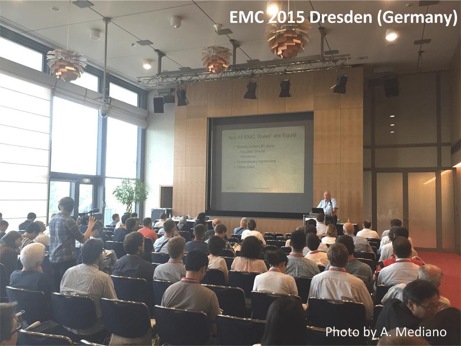 EMC 2015 - Dresden, Germany