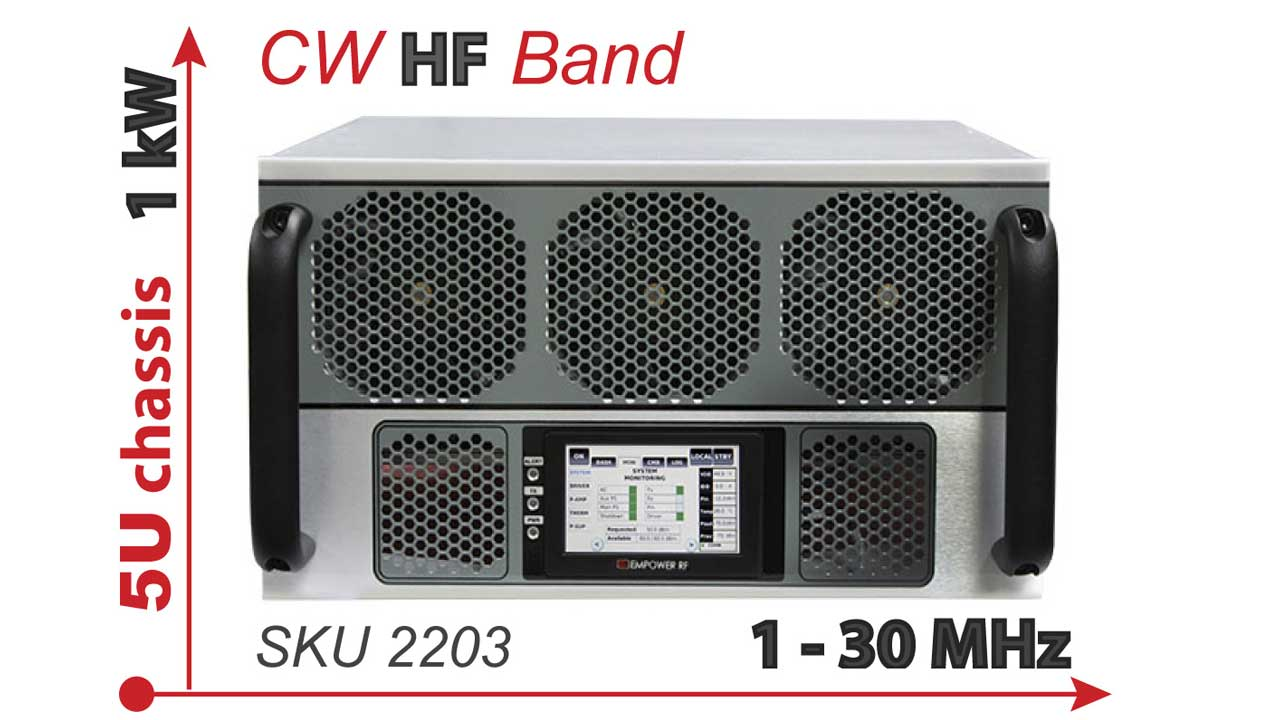 Empower RF Systems Releases High Power HF Amplifier | Interference
