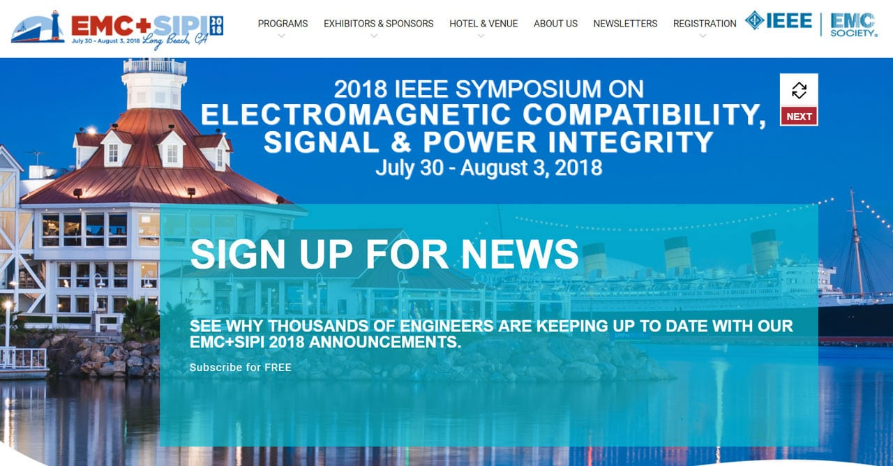 2018 IEEE Symposium on Electromagnetic Compatibility, Signal & Power Integrity