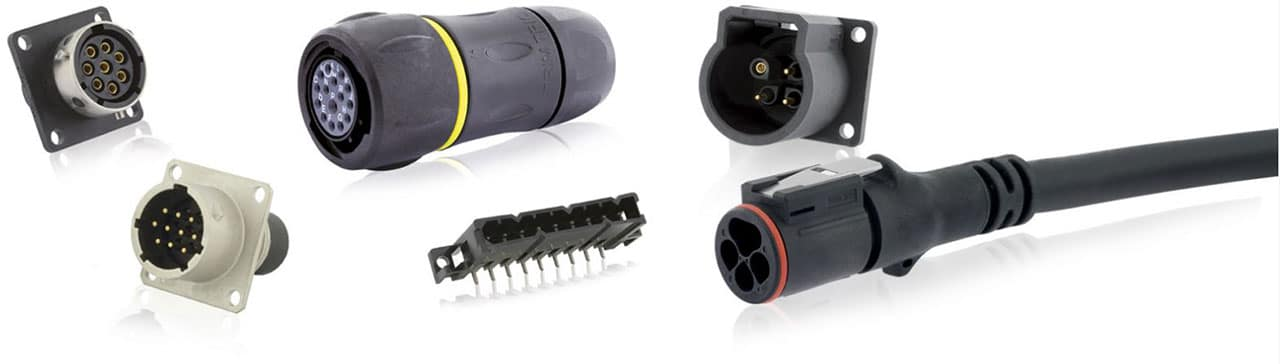 SOURIAU Trim Trio Interchangeable, Intermateable Connectors