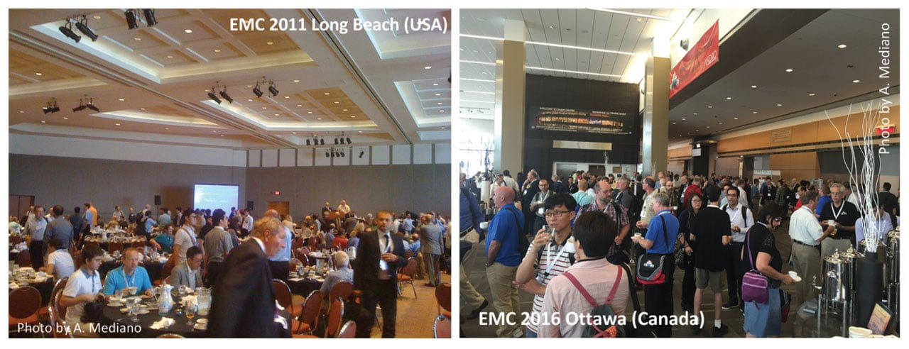 EMC 2011 Long Beach (USA) and EMC 2016 Ottawa, Canada