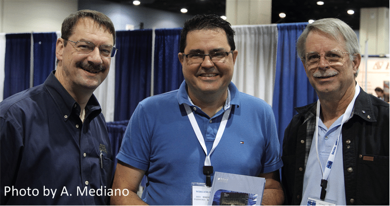 Patrick Andree, Ken Wyatt and Arturo Mediano