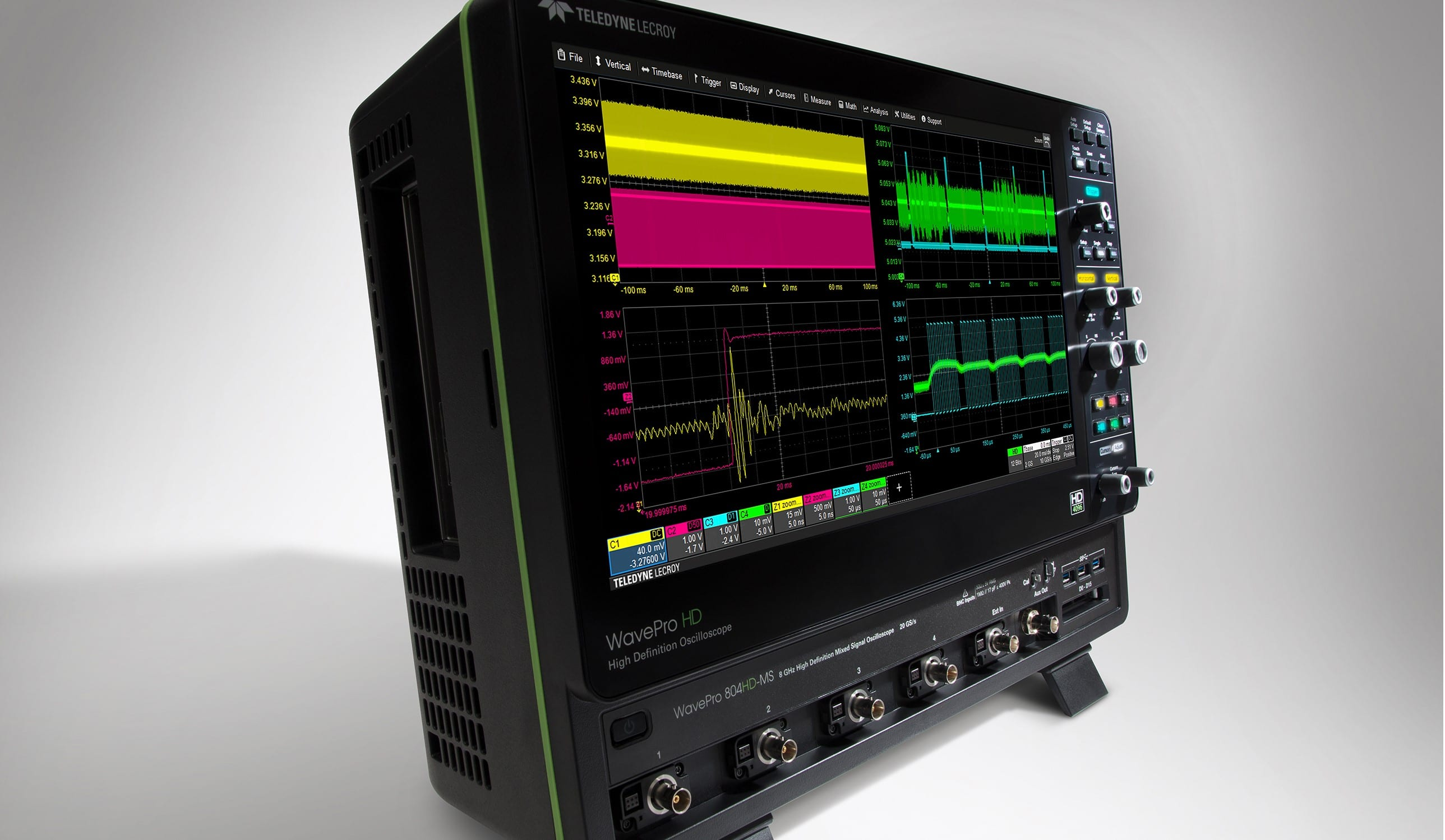 Teledyne lecroys wavepro hd oscilloscopes capture every detail teledyne lecroys wavepro hd oscilloscopes capture every detail ccuart Images