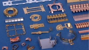 Photo Etching Beryllium Copper Components