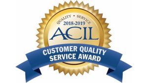 D.L.S. Electronic Systems, Inc. receives   ACIL Customer Quality Service Award